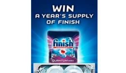 Win a Year's Supply of Finish Tablets