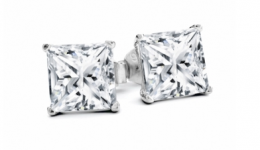 Free 1ct Sterling Silver Studs Made With Swarovski  - Ideal for Mother's Day