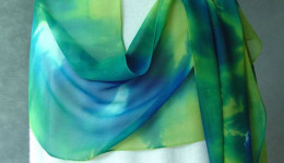 Free Emerald Chiffon Scarf - worth £18