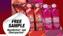 Free Cherry Energy Shots