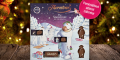 Free Personalised Large Snowman Advent Calendar