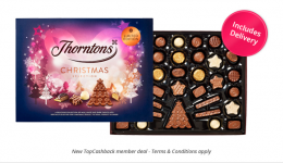 Free Thorntons Christmas Selection Box