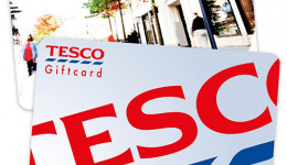 Free £10 Tesco Gift Card