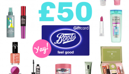 WIN a free £50 Boots Gift Card & uncover these beauty hacks